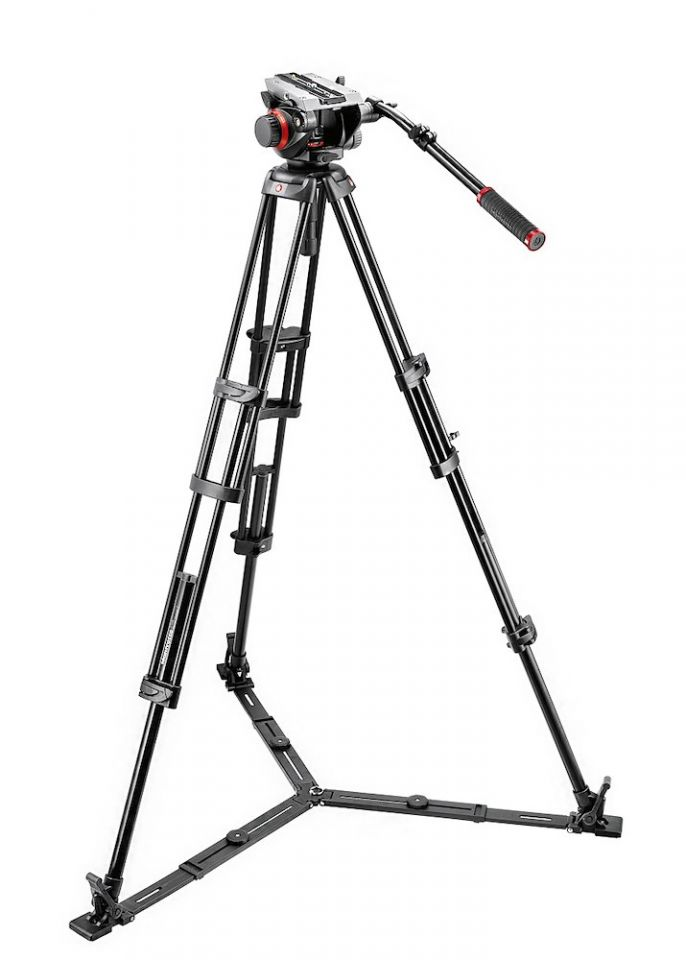 Видеоштатив Manfrotto 504HD + 546GBK